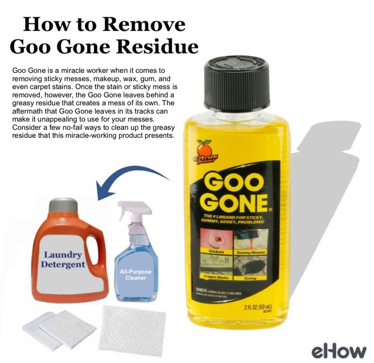How to Remove Goo Gone Residue Goo gone, How to remove