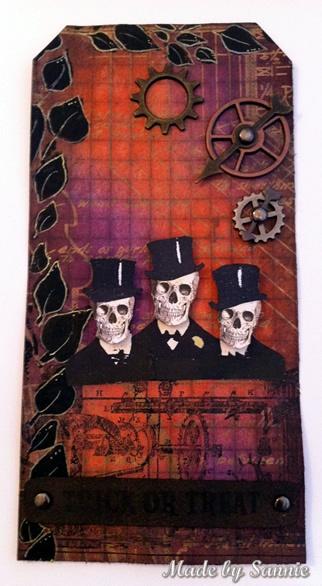 Made by Sannie: Steampunk Halloween