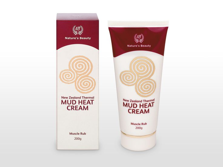 Nature's Beauty Thermal Mud skincare packaging