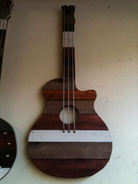 44 best guitar art images on pinterest guitar art steampunk i could do something like this with cool paper and mod podge solutioingenieria Gallery