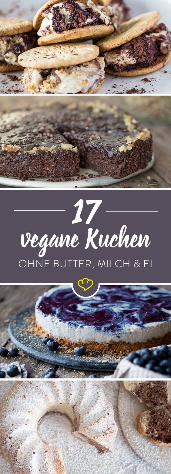 25 Kuchen für vegane Naschkatzen – Es geht auch ohne! – Kuchen & Torten | Rezepte