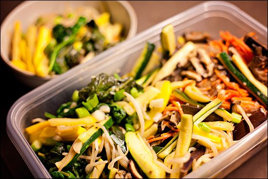 Vegan Bibimbap – Korean Veggie Dish