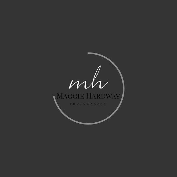 Photographie logo - Design-photographie - Premade Logo - Logo filigrane - Logo Simple - INSTANT DOWNLOAD