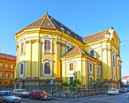 Römisch-Katholischer Dom am Vereinigungsplatz (früher Domplatz) Temeswar