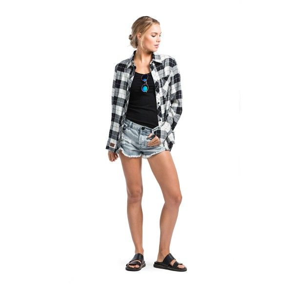 Mons Royale Jackson Womens Flannel Shirt by Mons Royale from Base NZ $180