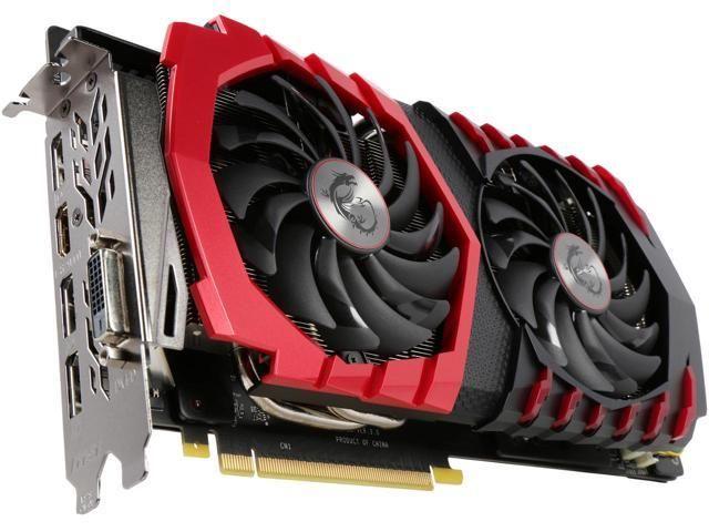Msi Geforce Gtx 1060 6gb 199 Ac And Rebate At Newegg Video Card Graphic Card Nvidia