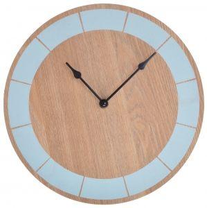44 zł Zegar drewniany, niebieski