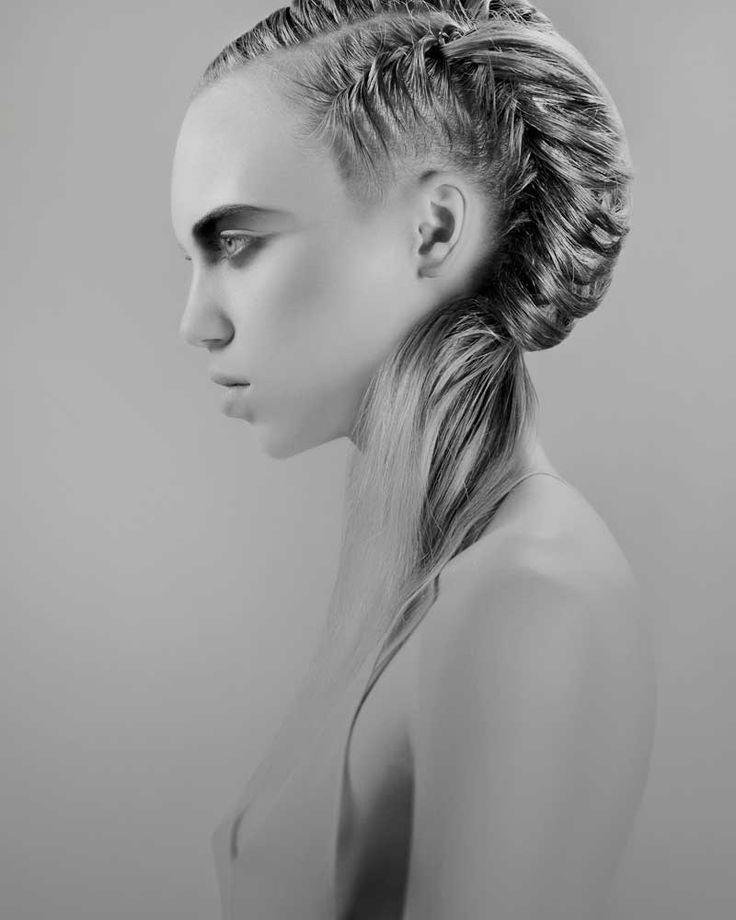 www.esteticamagazine.com | Conceptual Collection by Anna Chapman @ Trevor Sorbie | Hair & Styling: Anna Chapman at Trevor Sorbie, Brighton Make up: Izabella Windak