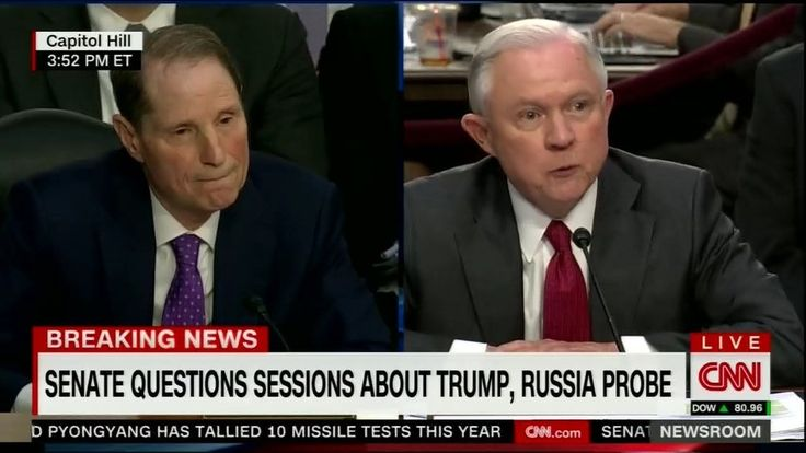Things got heated during today's Senate Intelligence Committee hearing with Attorney General Jeff Sessions when Sen.Ron Wyden decided to stop tiptoeing around the hard facts. Former FBI Director James Comey told the world during his testimony last...