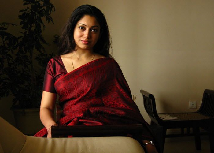 Anjali Menon in Saree