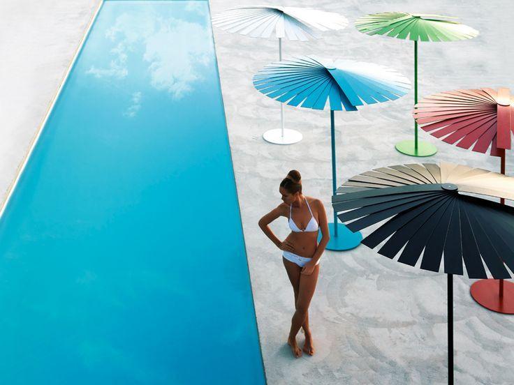 ENSOMBRA UMBRELLA designed by OdosDesign for Gandia Blasco. Available through http://www.switchmodern.com/Outdoor-Accessories/Gandia-Blasco-Ensombra-Umbrella.asp
