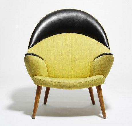 "The Upholstered Peacock Chair. ""This was a chair that was designed by Wegner in 1953, two years after his famous Teddy Bear Chair (or Papa Bear Chair), and it is probably the only chair that can challenge the Teddy Bear Chair as the most exclusive upholstered chair."" - Kasper Holst Pedersen, PP Møbler."