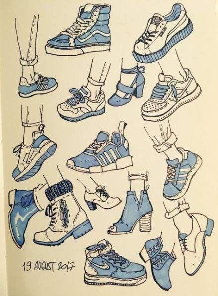 38 Ideen Turnschuhe Kunst Zeichnung #Sneakers #Zeichnung # '' Augenzeichnung ''