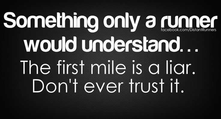☝️The First mile is a liar!