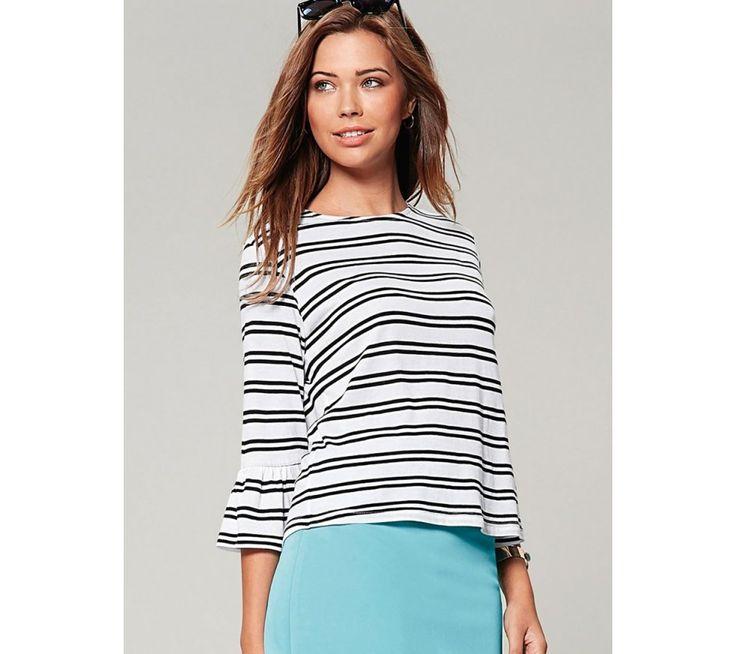 Pruhované tričko   modino.cz #ModinoCZ #modino_cz #modino_style #style #fashion #shirt