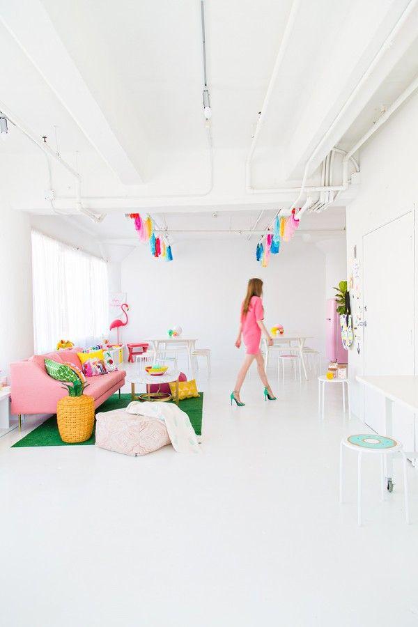 Casinha colorida inspirações fofas para o verão 2016
