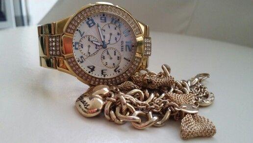 La combinación perfecta reloj guess  pulsera guess