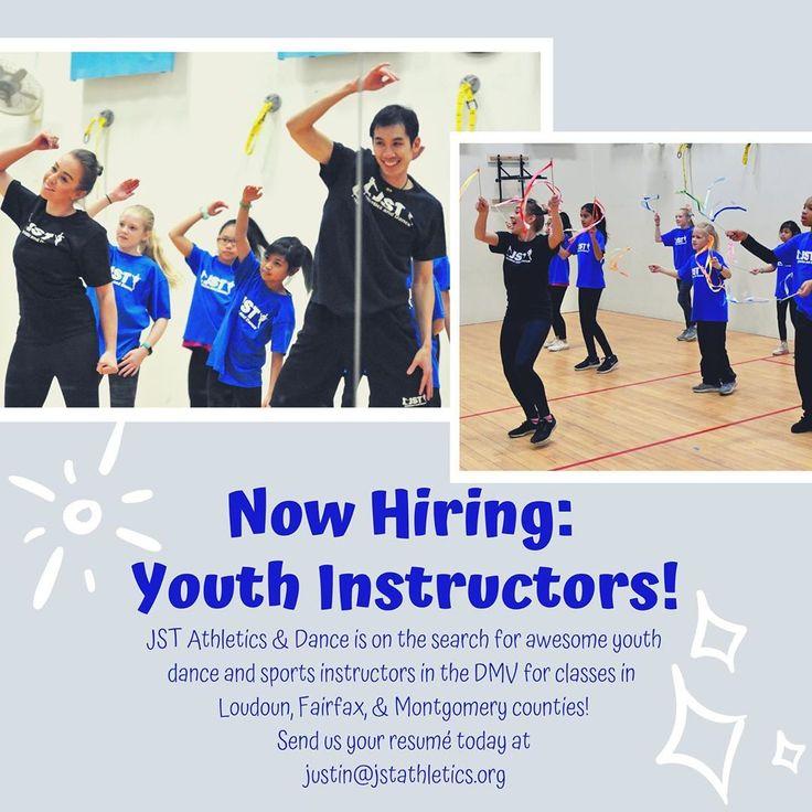 Now hiring youth dancesports instructors in northern va