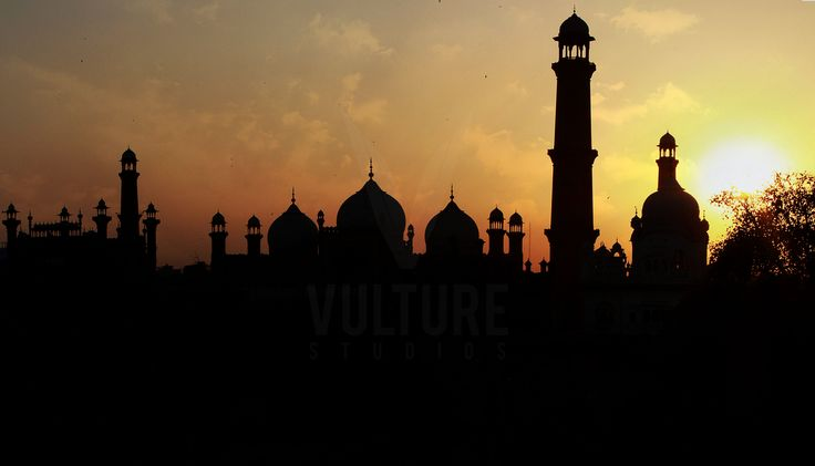 Silhouette photography of Bhadshahi Mosque