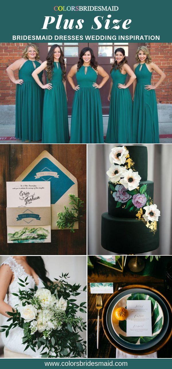 Plus Size Bridesmaid Dresses 1