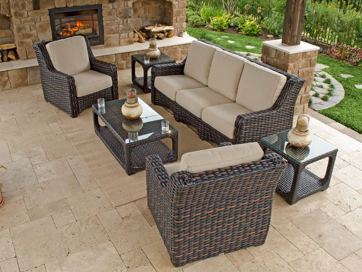 Best + Resin wicker patio furniture ideas on Pinterest