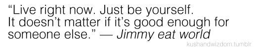 Jimmy Eat World lyrics
