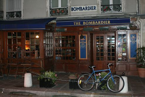 The Bombardier (Paris 5e, Montagne Ste. Geneviève): British pub w/ excellent ambiance and the best fish & chips this side of the Channel.