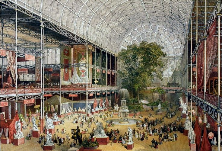 The Great Exhibition of 1851 displayed wonders and inventions from around the world