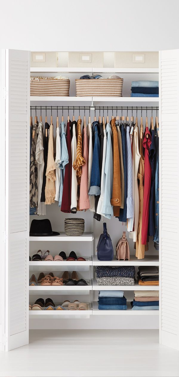 Ready To Give Your Small Closet A Makeover Look No Further Than