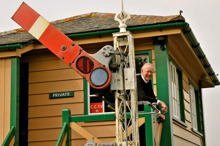 Swanage railway. Dorset.
