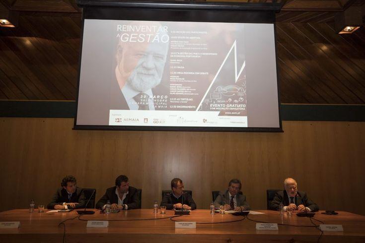 As PME necessitam de percecionar muito bem e distinguir a Propriedade da Gestão, enfatizou o Prof Daniel Bessa na palestra dedicada a reinventar a gestão