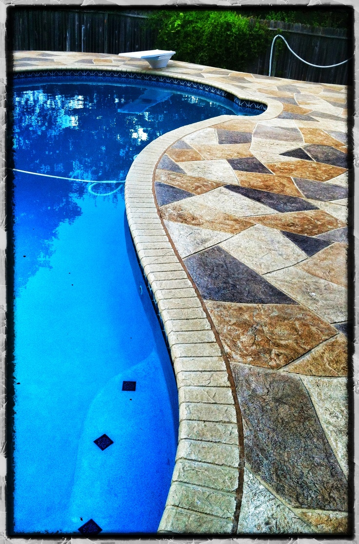 42 Best Pool Deck Designs Images On Pinterest Cover