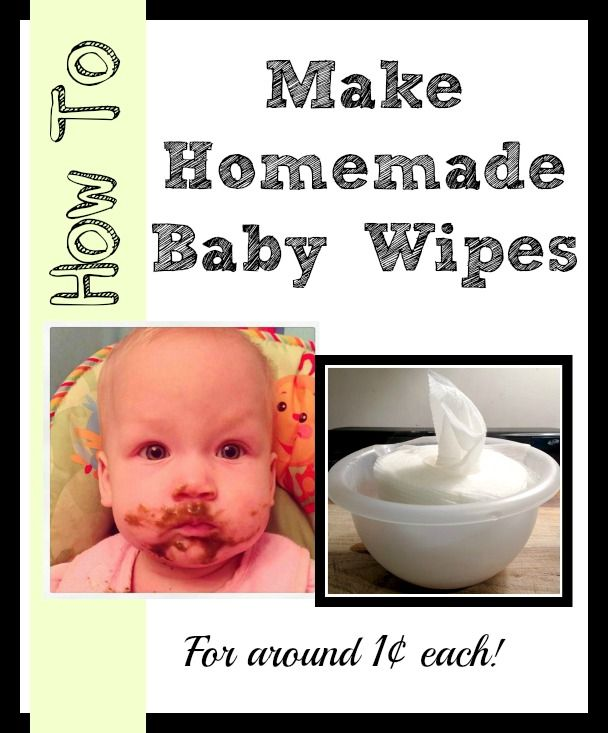 How to make homemade baby wipes. | Homemade baby wipes recipe