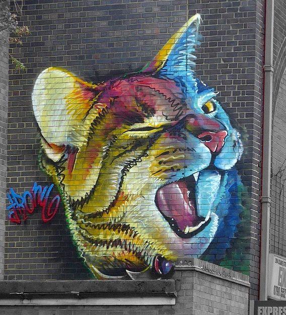 //by Irony in London, 2015 (LP)#street art