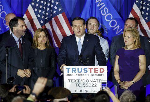 Νίκες Κρουζ και Σάντερς στο Ουισκόνσιν, πιέζεται ο Τραμπ ~ Geopolitics & Daily News