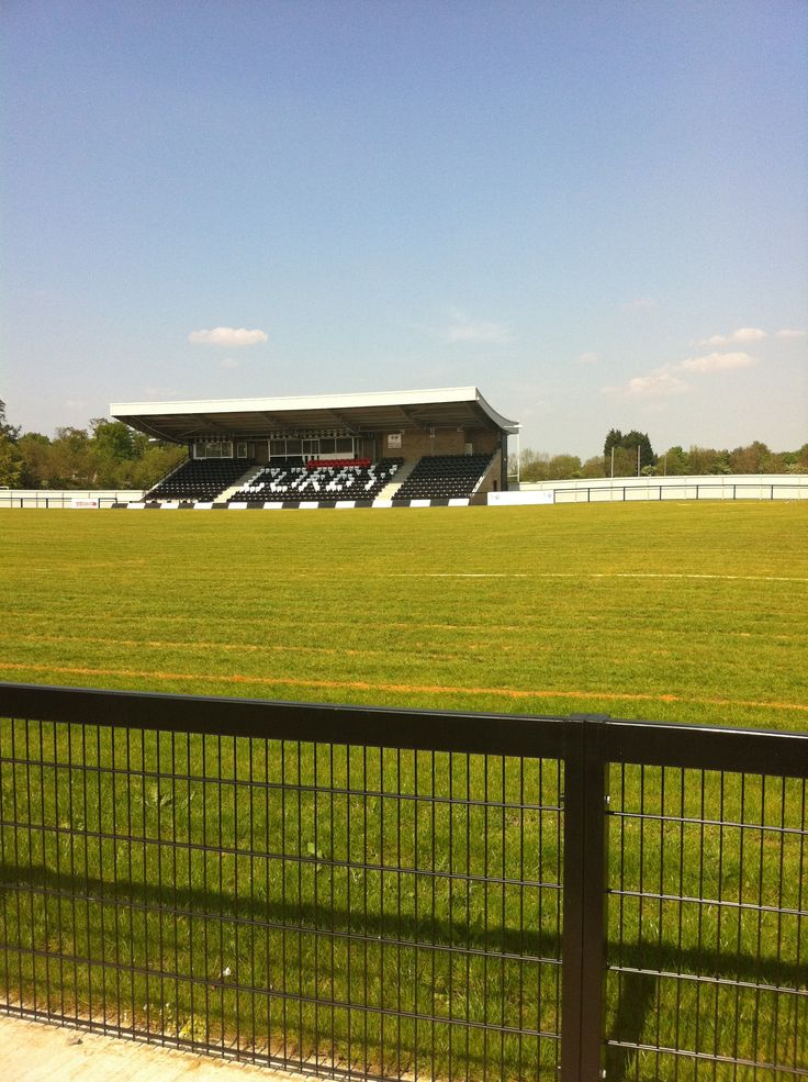 Steel Park, Corby Town FC, England