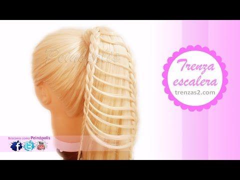 Peinados Faciles Bonitos con Trenzas para Niña Cabello Largo - YouTube