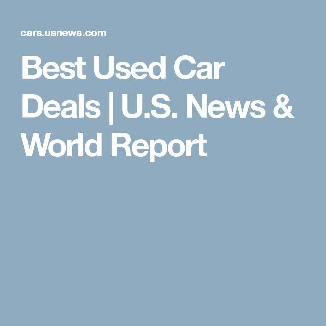 Best Used Car Deals | U.S. News & World Report