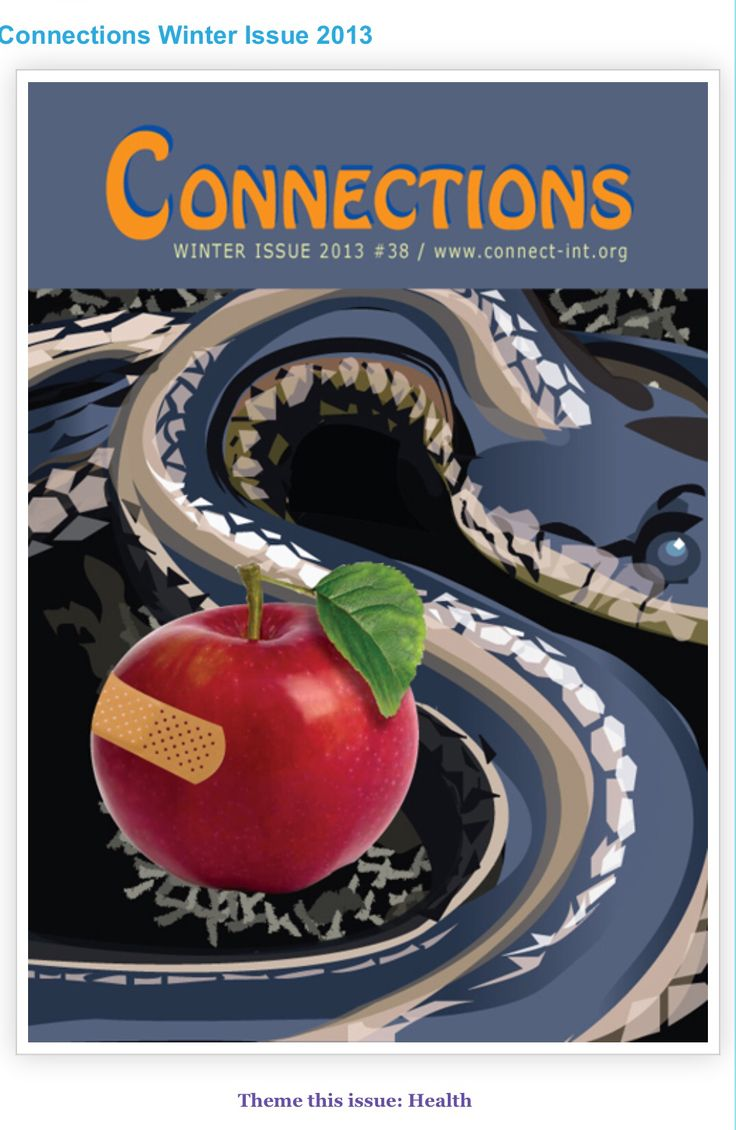 Connections - magazine of which I was editor, writer and designer.  For all issue, please follow the link