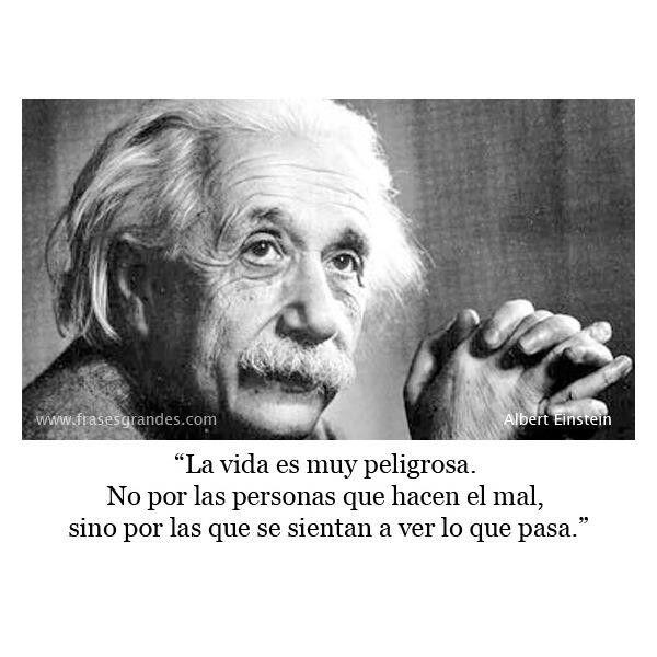 #frase #español #alberteinstein