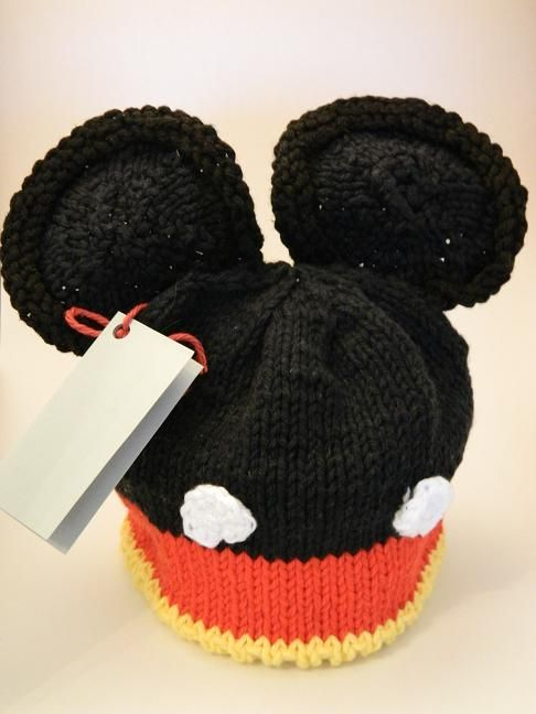 Knitting Patterns Galore - Mouse Ears Knit Baby Hat Babies Pinterest Ea...