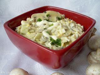 Di gotuje: Sałatka pieczarkowa (z jajkami)