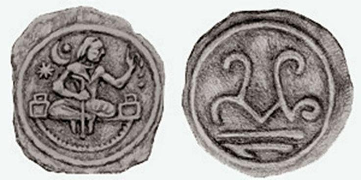 Eski Türklerin (Göktürklerin,Uygurların ve Türgişlerin) sikkeleri üzerindeki araştırmalar 1890'lı yıllarda numismat Edmond Drouin'in çalışma...