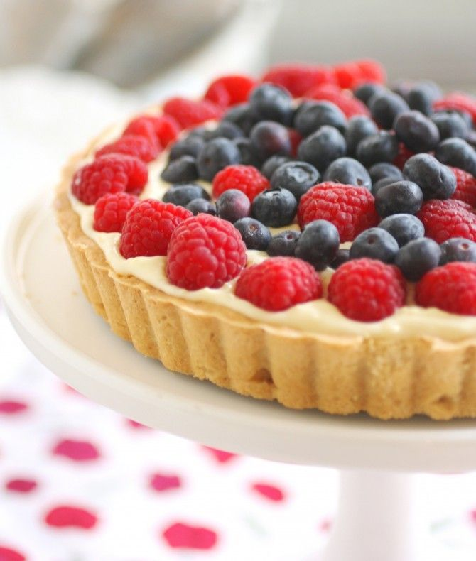 Simple Italian Fruit Tart Recipe
