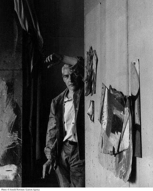 Willem de Kooning, studio, 1959.