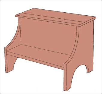 Shaker Step Stool Pattern Woodworking Projects Amp Plans