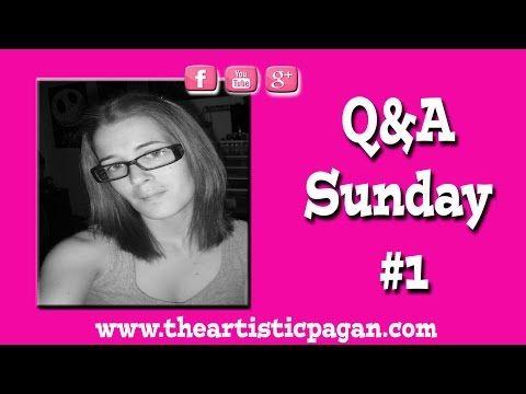 Q&A Sunday #1 - YouTube