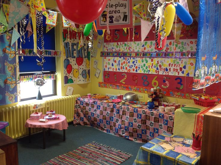 New role play area today, a birthday party to tie in with our celebrations topic - dressing up, ordering and sorting numbered birthday cards - boys/girls, writing cards and invitations, as well as a CD player for real party music!