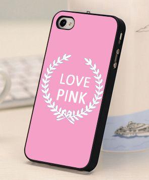 Caliente venta Chirstmas caja de Victoria / ' s secreto amor PINK Luxe estuche rígido de banda de teléfono móvil para ione 5 5S cubre regalar(China (Mainland))