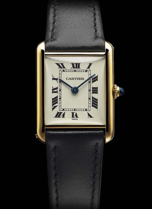 Built during the war but built like a tank. This is the Cartier Tank Watch.